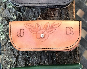 Hand-Made Leather Eyeglass Case