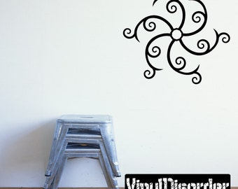 Snowflakes Vinyl Wall Decal Or Car Sticker - Mv027ET