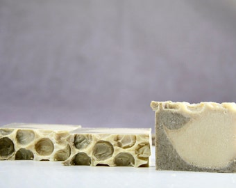 Natural Unscented Soap. Honey Soap
