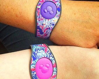 Lilly Pulitzer Inspired Magic Band Decal 2.0