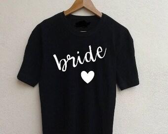Bride Heart shirt