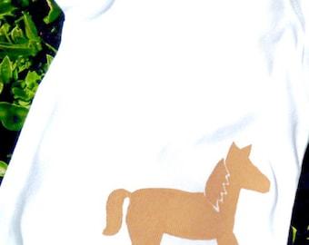 Children - Horse - Pony - Farm -Toddler T-Shirt or Baby Onesie