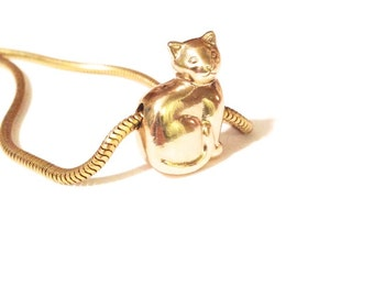 Kitty Cat Bead Necklace
