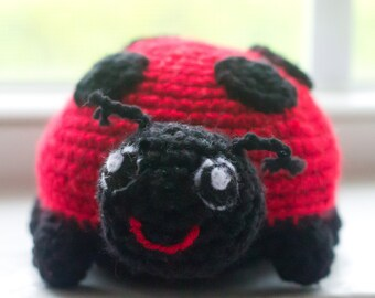 Ladybug Stuffed Animal - Custom Ladybug - Crochet Ladybug - Ladybug Decor - Ladybug Nursery - Ladybug Baby Shower - Ladybug Plush