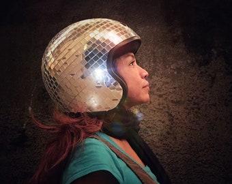 XS Core Vintage Disco Ball Helmet
