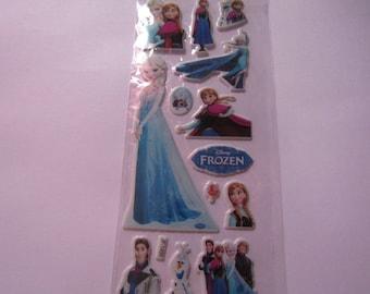 Kids stickers stickers Board 16cmx7cm Princess cartoon