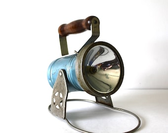 Vintage Star Headlight Flashlight