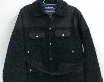 25% ON SALE Junya Watanabe Man Comme Des Garcons Gore-tex Wool Jacket