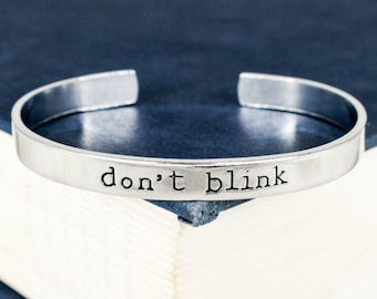 Don't Blink Bracelet