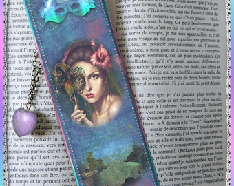 """Laminated bookmarks """"Mysterious Venice"""""""