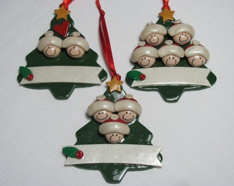 Extended Size Family Tree Ornament 9-12 people