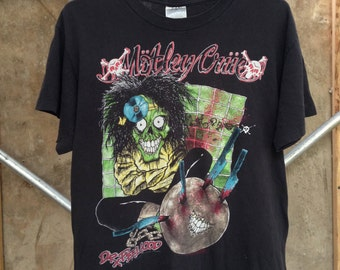 SALE! Vintage MOTLEY CRUE Dr. Feelgood 1989 Tour Tee