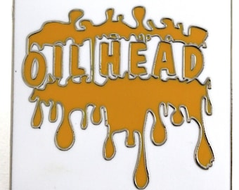 Oil Head Bho Hat Pin