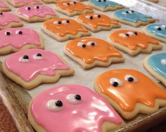 PAC man theme cookies