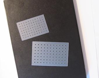 Bullet Journal Stencil Planner Stencil Dot Grid Bujo Stencil ready to ship