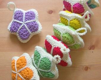 Crochet Star Pattern - Stuffed Star - Crochet Decoration Pattern - PDF