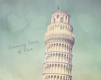 Pisa Photography, Leaning Tower Of Pisa, Leaning Tower Photo, Pisa Print, Pisa Wall Art, Home Art Decor, Pisa Art Print, Pisa Leaning Tower