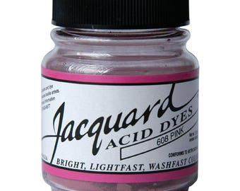 Jacquard Acid Dyes For Silk, Wool, and other Protein Fibers-#617 CHERRY RED (.5oz)