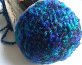 1 skein of Lion Brand Homespun yarn destash Modern