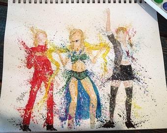 Britney Spears Trio