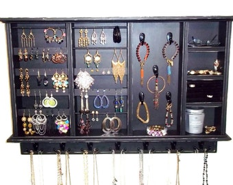 Jewelry  Organizer with Ring Holder , Organize Jewelry