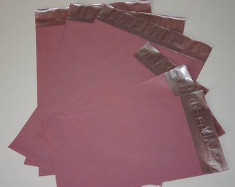 50  Pale Pink Poly Mailers Self Sealing Envelopes 25 6x9 and 25 9x12 Easter Spring