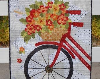 Blossoms and Spokes Quilt Pattern - Marcea Owen - Abbey Lane Quilts