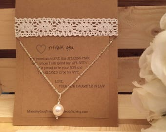 FREE Gift!!  Mother of the Bride & Mother of the Groom Necklaces