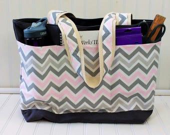 Teacher Bag- Teacher Tote- Monogrammed Bag - Teacher Gift -Personalized Bag - Gifts for Teachers-Teacher Gift