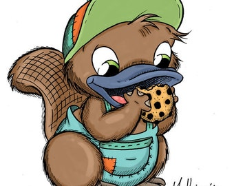 Bikkie with Cookie (DIGI STAMP)