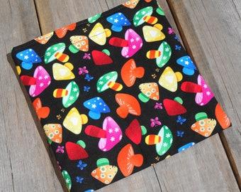 Reusable Snack Bag - Single Bag in Blue Paisley