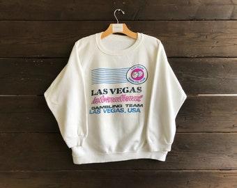 Vintage 80s Las Vegas International Gambling Team Sweatshirt