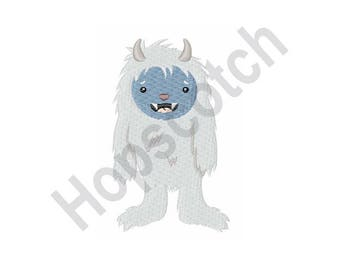 Yeti - Machine Embroidery Design