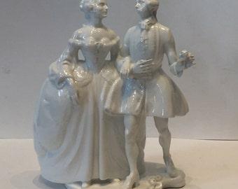 19th Century Porcelain White Glazed Figures - Berlin Porcelain