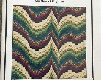 Morning Melody by Ann Lauer - Lap - King quilt pattern from Grizzly Gulch Gallery