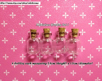 miniature bottles set