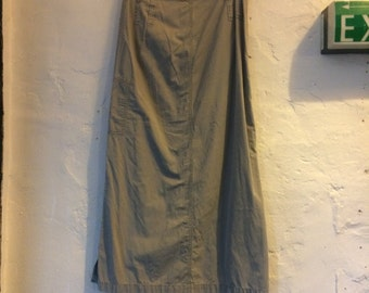 """SALE WAS 30 Vintage G.W by Gerry Weber long camo skirt size 10. Waist 30"""" hips 36"""" length 37.5"""""""
