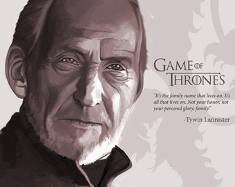 Tywin lannister poster, House Lannister poster, game of thrones poster, got poster, fantasy poster, game of thrones art print, poster
