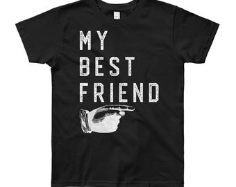 My Best Friend | Kids Tee Shirt | Kids Quotes | Youth Short Sleeve T-Shirt