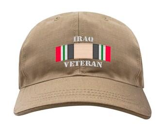 Iraq Veteran Campaign Ribbon Caps