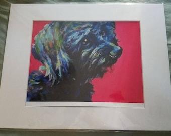 Watercolor Terrior print