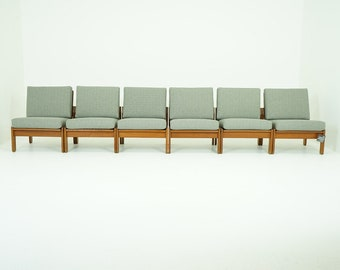 308-150 Teak Lounge Chair Danish Mid Century Modern (6)