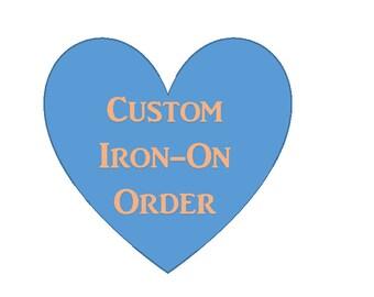 Custom T-Shirt Iron on Warrior girl