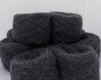 Dark grey yarn, alpaca yarn, merino yarn, alpaca and merino, knitting yarn, crochet yarn, yarn lot, cheap yarn, super fine yarn, sock yarn