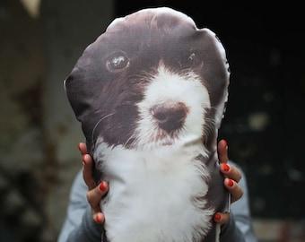 Customized Pet Pillow - Pet Photo Pillow - Pet Portrait - Dog Pillow - Personalized Pillow - Custom Cat Pillow - Custom Dog Pillow