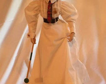 "Danbury Mint ""Croquet"" Porcelain Doll"
