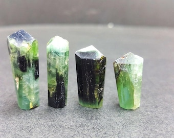 60 CT Tourmaline - Natural Bi-Color Green -  From Afghanistan 9974