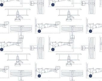 Crib Skirt Flight School. Baby Bedding. Crib Bedding. Crib Skirt Boy. Baby Boy Nursery. Airplane Crib Skirt. Airplane Nursery.