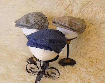 Newborn flat cap