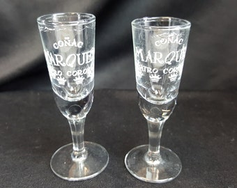 Conac Marque Cuatro Corona Shot Glasses - Set of 2 - (Free Shipping)